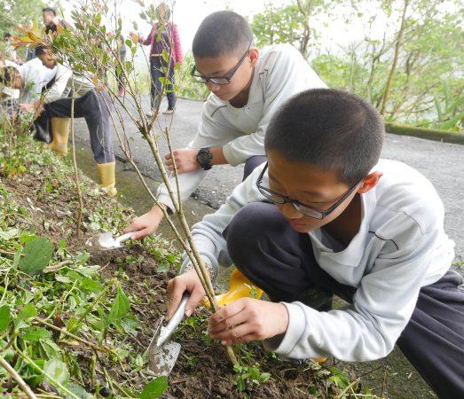 312福智國小植樹節活動
