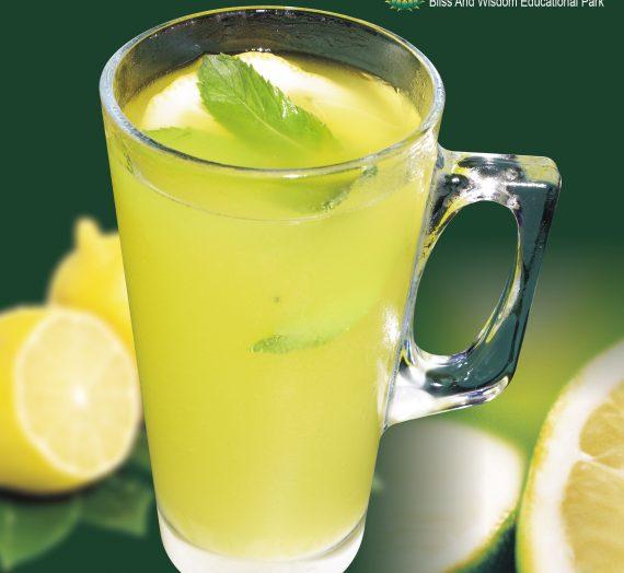 調出可口的檸檬汁