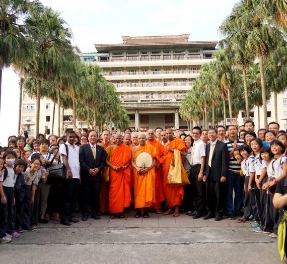 斯里蘭卡僧王蘇曼格勒與長老等蒞臨參訪福智教育園區